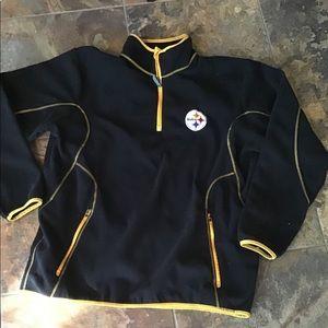 Steelers quarter zip sweatshirt